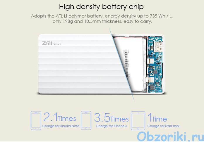 Xiaomi ZMI HB810 Smart 10000mAh