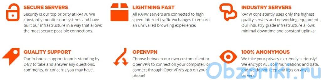 RA4W VPN описание