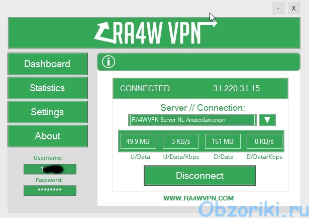 RA4W VPN Windows App