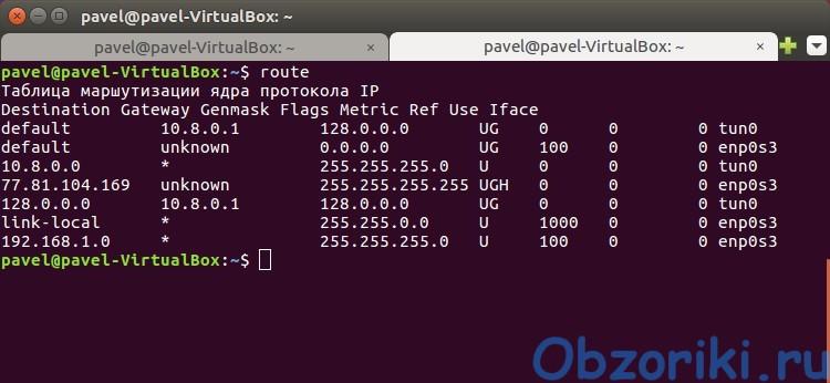 RA4W VPN Ubuntu Linux Console OpenVPN