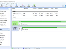 Aomei Partition Assistant Pro 6.0
