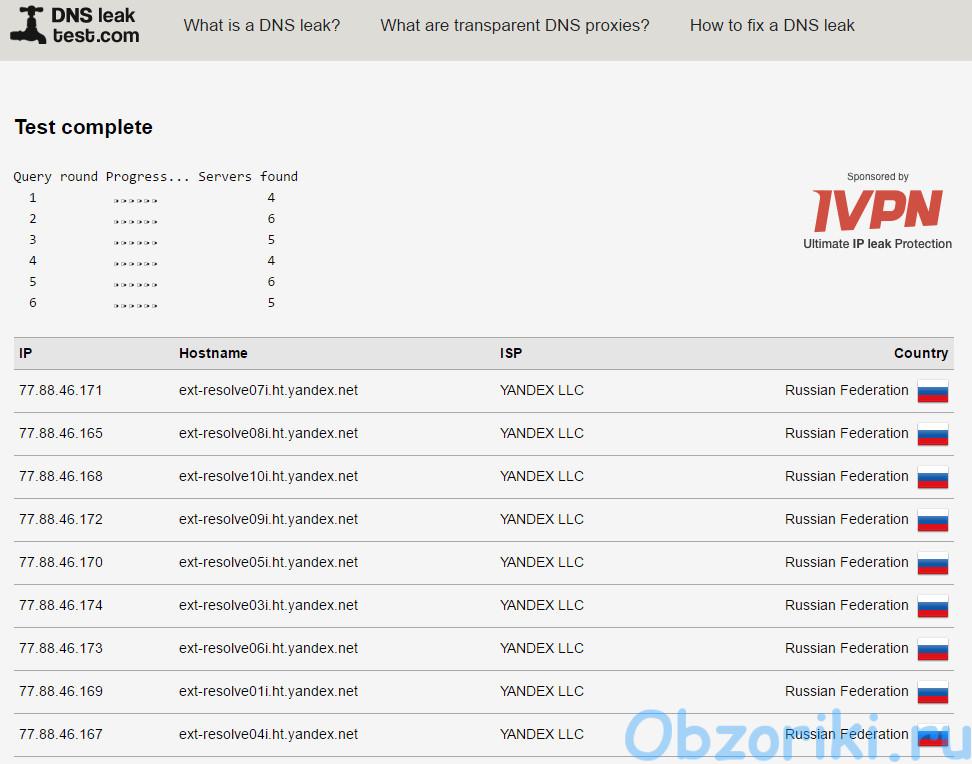 Программа Quick Set DNS