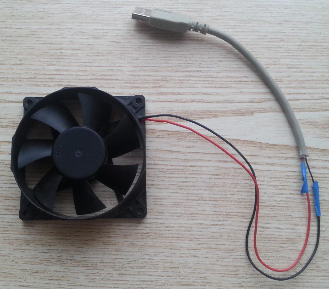 Как из кулера сделать вентилятор через usb 972